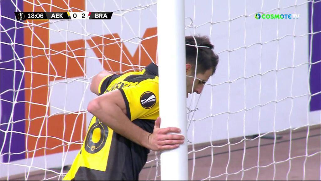 ΑΕΚ-Μπράγκα 2-4: Γκολ και highlights (video)