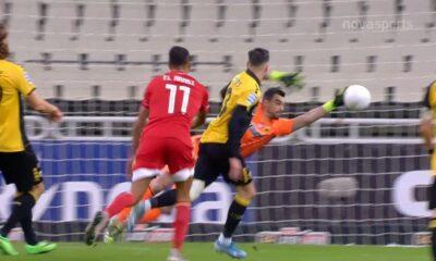ΑΕΚ - Ολυμπιακός 1-1