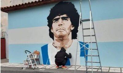 Μιλήσαμε με τον δημιουργό του καλύτερου γκράφιτι για τον Μαραντόνα (που κινδυνεύει με σβήσιμο) 21