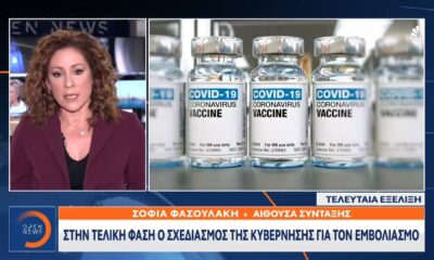 κορονοϊός εμβολιασμός