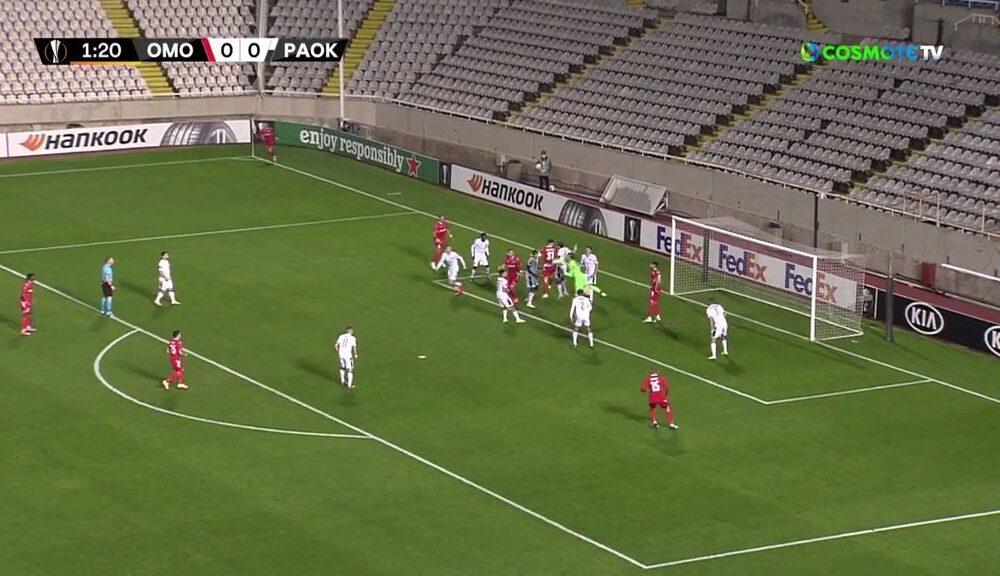 Ομόνοια - ΠΑΟΚ 2-1: Γκολ και highlights (video) 6