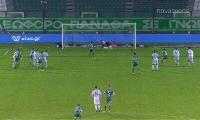 Παναθηναϊκός - Γιάννινα 2-0: Γκολ και highlights (video) 10