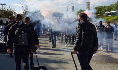 Δίωξη - και πολύ σωστά-  για παράνομη συνάθροιση στους οπαδούς του ΠΑΟΚ σε Κύπρο 6