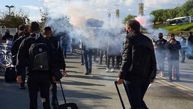 Δίωξη – και πολύ σωστά-  για παράνομη συνάθροιση στους οπαδούς του ΠΑΟΚ σε Κύπρο