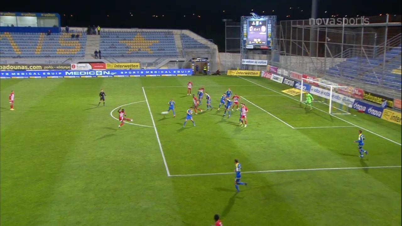 Αστέρας Τρίπολης – Ολυμπιακός: Το 0-2 με Καμαρά! (video)