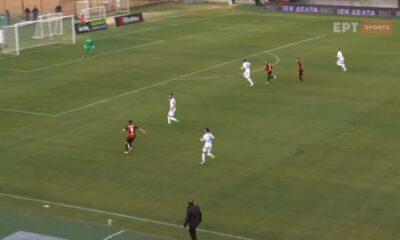 Παναχαϊkή – ΟΦΙ: Τα δύο γκολ της ομάδας της Πάτρας (videos)