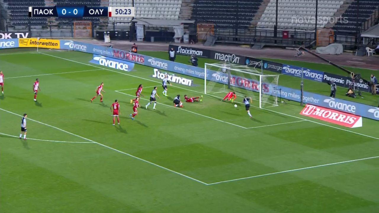 ΠΑΟΚ-ΟΣΦΠ: Το 1-0 ο Ίνγκασον (video)