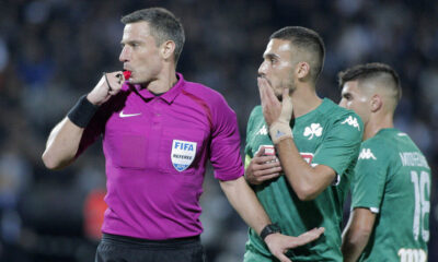 Super League: Γνώριμος Σλοβένος ρέφερι στο ΠΑΟΚ-ΑΕΚ, ο Καραντώνης στη Λεωφόρο