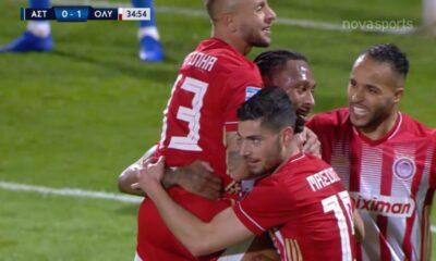 Ολυμπιακός - Αστέρας Τρίπολης: To 0-1του Σεμέδο! (video) 2