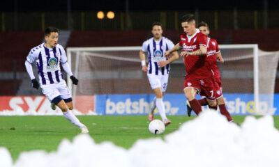 ΑΕΛ – Απόλλων Σμύρνης 0-1: Χιονοθύελλα στη Λάρισα… (+videos)