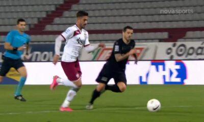 ΑΕΛ - ΠΑΟΚ 1-1: Γκολ και highlights (video) 14
