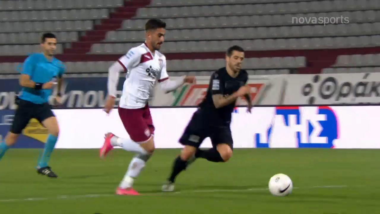 ΑΕΛ – ΠΑΟΚ 1-1: Γκολ και highlights (video)