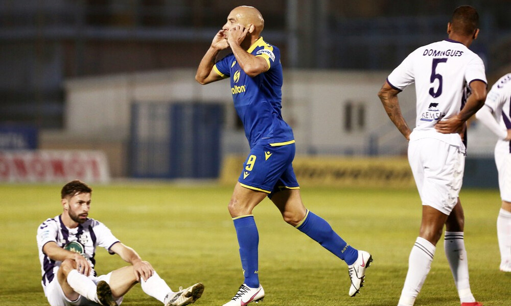 Απόλλων Σμύρνης-Αστέρας Τρίπολης 0-1: Διπλό εξάδας με υπογραφή Μπαράλες
