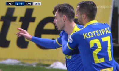 Αστέρας Τρίπολης – Παναιτωλικός 2-0: Γκολ και highlights (video)
