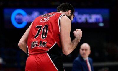 Η βαθμολογία της EuroLeague: Έπιασε την τετράδα η Αρμάνι Μιλάνο (+videos)