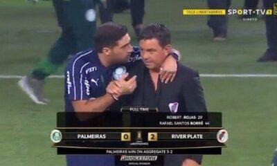 Φερέιρα – Γκαγιάρδο : Το στιγμιότυπο των προπονητών μετά το  φινάλε (video- ποιος… κορονοϊός τώρα;;;)