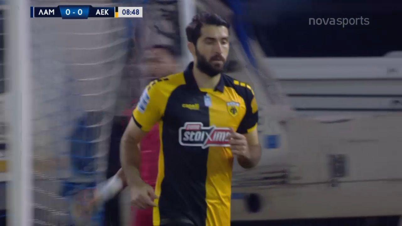 Λαμία – ΑΕΚ 0-1: Γκολ και highlights (video)