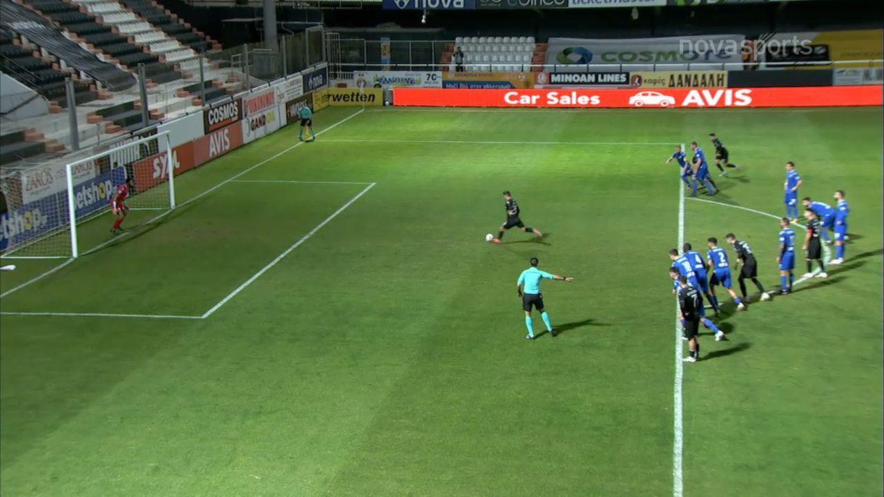 ΟΦΗ – Λαμία 2-0: Γκολ και highlights (video)