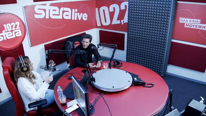 O Νίκος Οικονομόπουλος σε μία αποκλειστική συνέντευξη στον Sfera 102,2 με την Ναταλία Γερμανού (βίντεο)