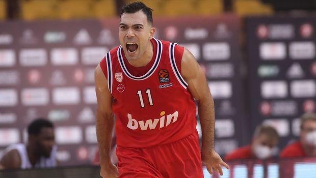 Ολυμπιακός – Μπάγερν 84-82: Ο Σλούκας υπέγραψε το θρίλερ