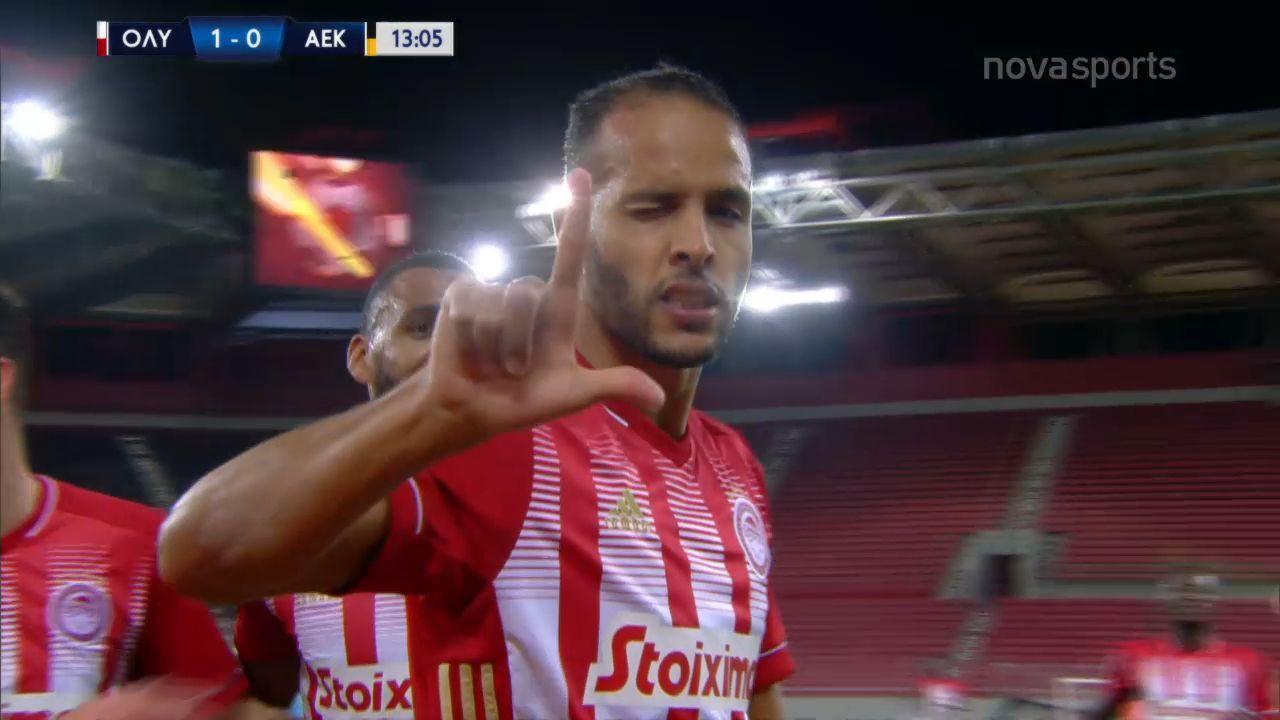 Ολυμπιακός – ΑΕΚ 3-0: Γκολ και highlights (video)