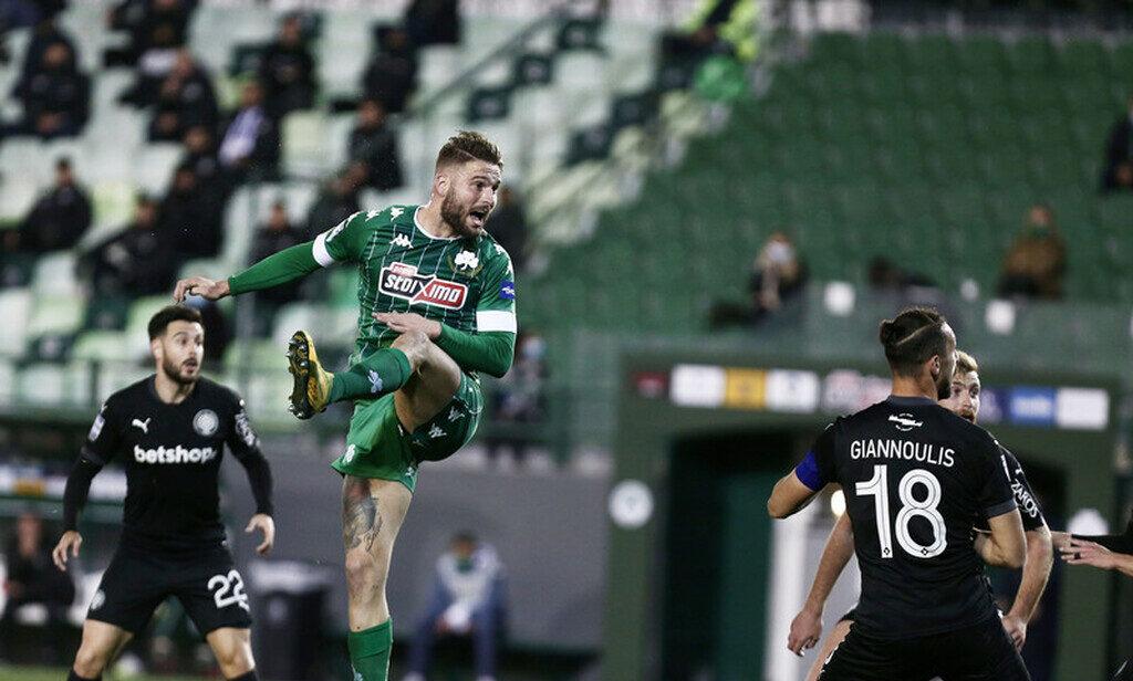 Παναθηναϊκός-ΟΦΗ 2-0: Τέταρτη σερί νίκη για το τριφύλλι