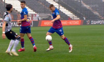 ΠΑΟΚ - Βόλος: 0-1 με γκολ του Κιάκου (video) 5