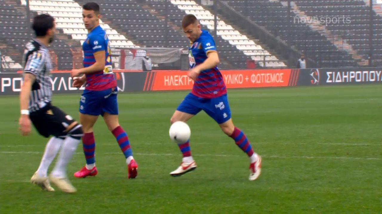 ΠΑΟΚ – Βόλος: 0-1 με γκολ του Κιάκου (video)
