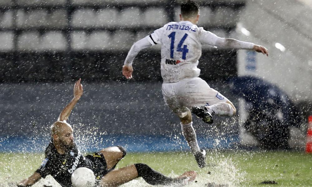 """ΠΑΣ Γιάννινα-Άρης 0-0: Δεν… """"χόρεψαν"""" στη βροχή"""