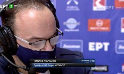 Ο ιδιοκτήτης του Λαυρίου δάκρυσε on air μετά τη νίκη επί του Παναθηναϊκού (+vids) 8