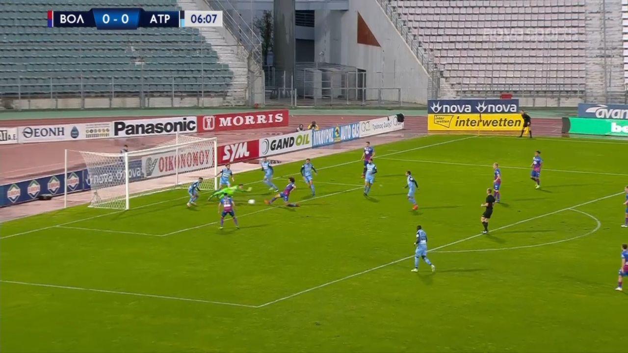 Βόλος – Ατρόμητος Αθηνών 1-0: Γκολ και highlights (video)