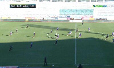 Βόλος – ΟΦΗ 2-0: Γκολ και highlights (video)