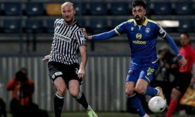 Super League : Η βαθμολογία μετά τη νίκη του Αστέρα κόντρα στον ΠΑΟΚ