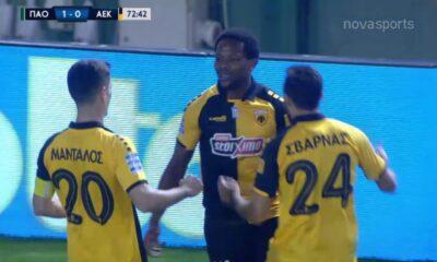 ΠΑΟ-ΑΕΚ: 1-1 με προσωπική ενέργεια του Γκαρσία! (video)