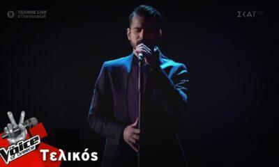 "O Καλαματιανός Κωνσταντίνος Δημητρακόπουλος - ""Φύγε"" | Τελικός | The Voice of Greece (video) 6"