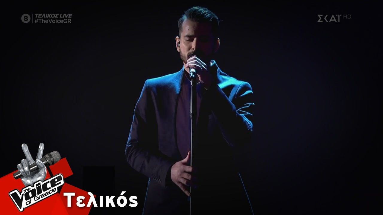"O Καλαματιανός Κωνσταντίνος Δημητρακόπουλος – ""Φύγε"" | Τελικός | The Voice of Greece (video)"