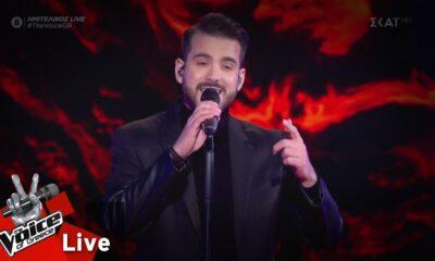 "Voice of Greece: Στον τελικό ο Καλαματιανός, Κωνσταντίνος Δημητρακόπουλος, με το ""Μην φύγεις τώρα""! (video) 8"