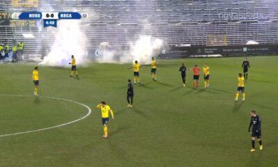 Απίστευτο! Διακοπή σε κεκλεισμένων ματς, λόγω... καπνογόνων στο Βέλγιο (video) 11