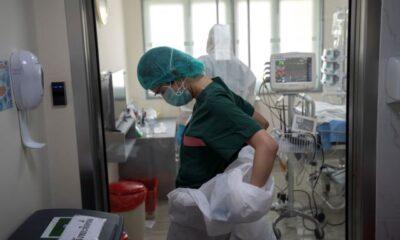 Κρούσματα σήμερα: 2.301 νέα ανακοίνωσε ο ΕΟΔΥ – 41 νεκροί σε 24 ώρες, στους 452 οι διασωληνωμένοι