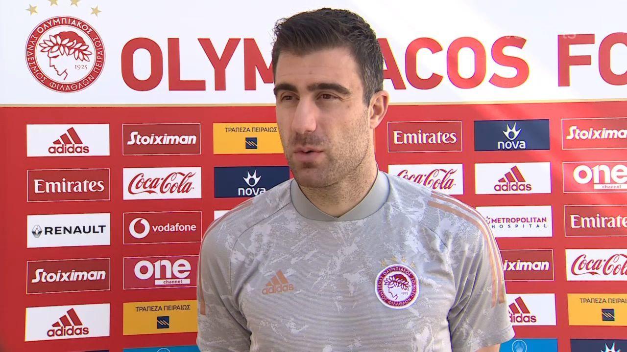 Σωκράτης: Ο Ολυμπιακός βοηθάει την Εθνική και το ελληνικό ποδόσφαιρο (video)