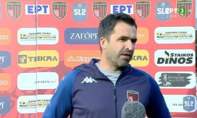 """Παρασκευόπουλος: """"Μεγάλη ομάδα η Παναχαϊκή, υπάρχει πίεση..."""" (video) 20"""