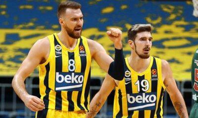 Η βαθμολογία της EuroLeague: Τρένο η Φενέρμπαχτσε, πέντε σερί νίκες η Βιλερμπάν (+videos)