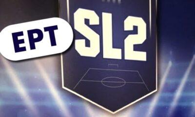 Το πρόγραμμα και η TV των Play off και των play out της SL2