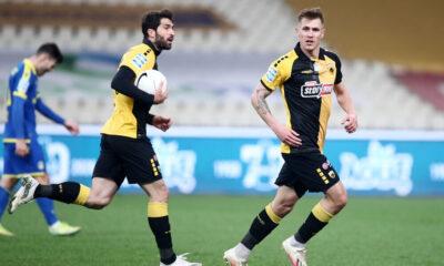 ΑΕΚ - Αστέρας Τρίπολης 1-1