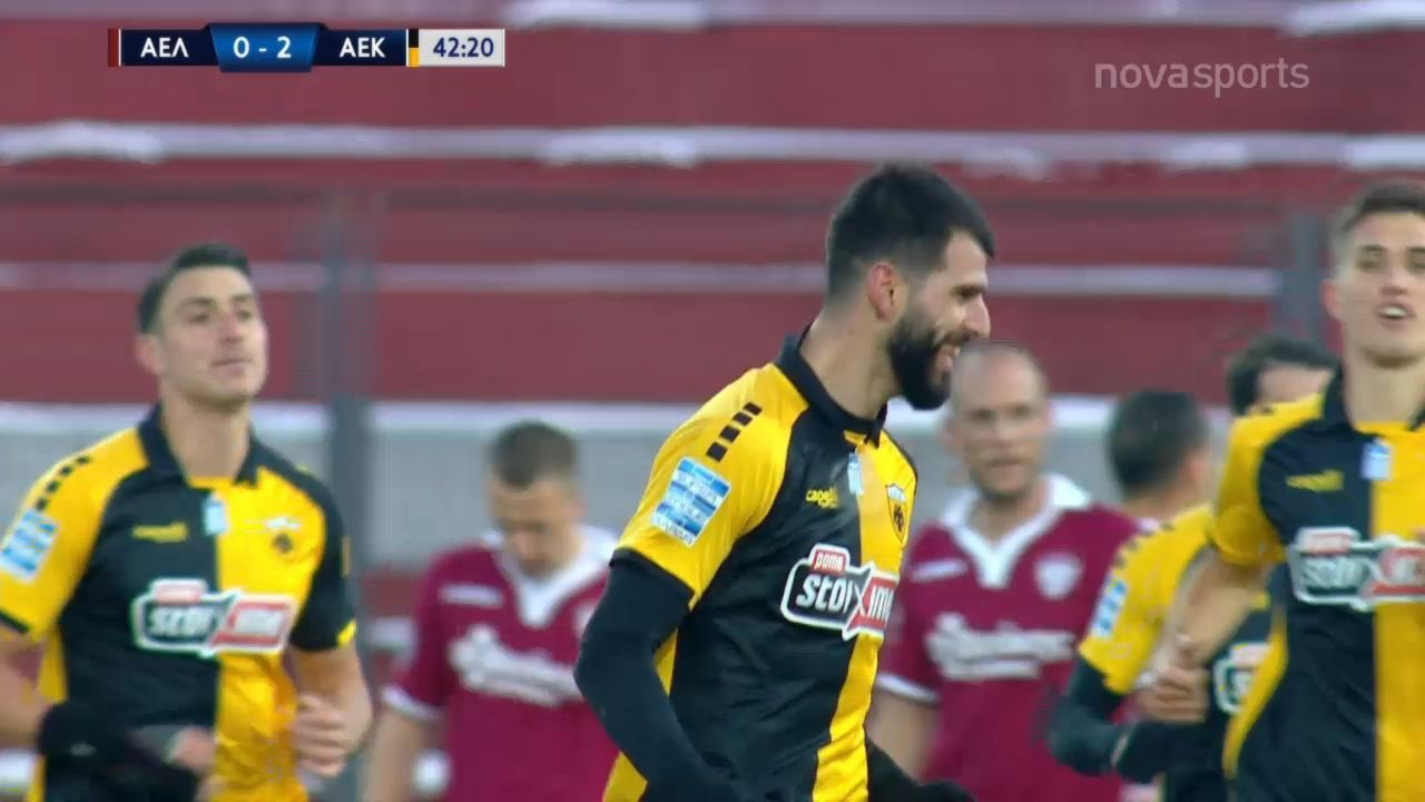 ΑΕΛ – ΑΕΚ 2-4: Γκολ και highlights (video)