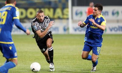 """Αστέρας Τρίπολης-ΠΑΟΚ 2-1: Αρκάδες για """"φίλημα"""" και Ευρώπη"""