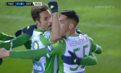 ΠΑΟ-ΟΣΦΠ: 1-0 με κεφαλιά του Μαουρίσιο (video) 10