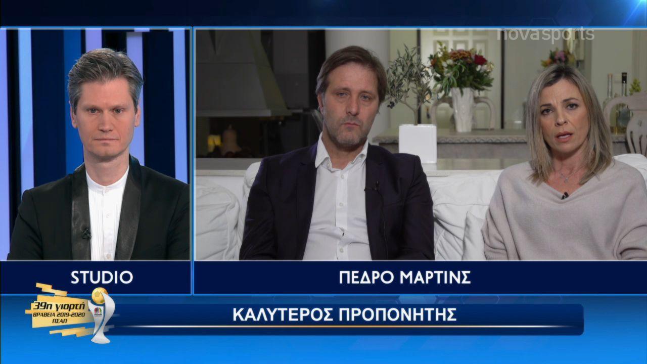 ΠΣΑΠ: Σάρωσε τα βραβεία ο Ολυμπιακός (+videos)