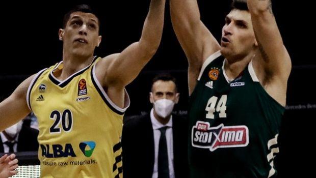 Η βαθμολογία της EuroLeague: Η Άλμπα έπιασε τον Παναθηναϊκό στις 9 νίκες