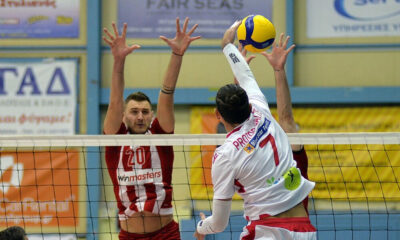 Volley League: Ντέρμπι κορυφής στου Ρέντη